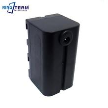 Купить с кэшбэком NP-F750 Empty Battery Coupler Replaces NP-F970 F770 F550 F570 Fits for Sony Camera Monitor Pannels YongNuo NangGuan Light Lamps