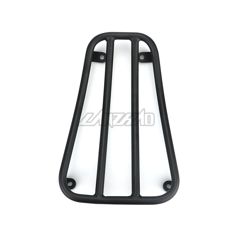Motorcycle Foot Rest Luggage Rack Case Shelf Holder Black for Piaggio Vespa Sprint Primavera 150 2017 2018 2019 Accessories-in Foot Rests from Automobiles & Motorcycles    3