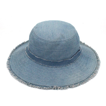 Denim Bucket Hat  2