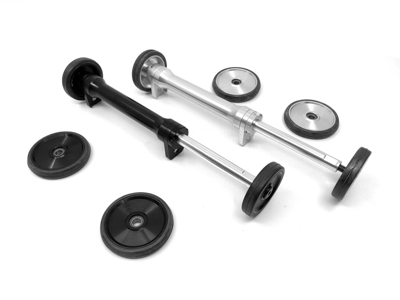 BMX folding bike balance easy wheel telescopic rod for brompton birdy bicycle convenient Ultra light easywheel