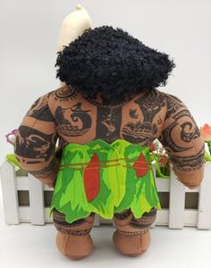2016 Новая оригинальная плюшевая игрушка Моана Мауи, кукла 9 дюймов