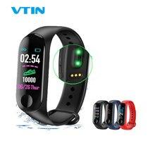 VTIN M3 Smart Band Fitness Bracelet Blood Pressure Blood Oxygen Monitor Smart Watch Waterproof Colorful Screen Sport Watch