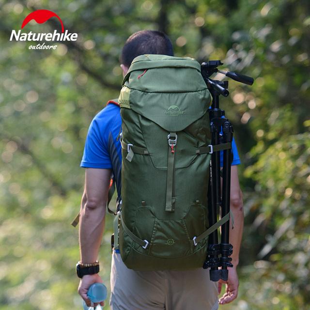 NatureHike Professional Mountaineering Backpack Waterproof Big Capacity 45L Outdoor Mountain Backpacks Women Bag TRAVEL BAG