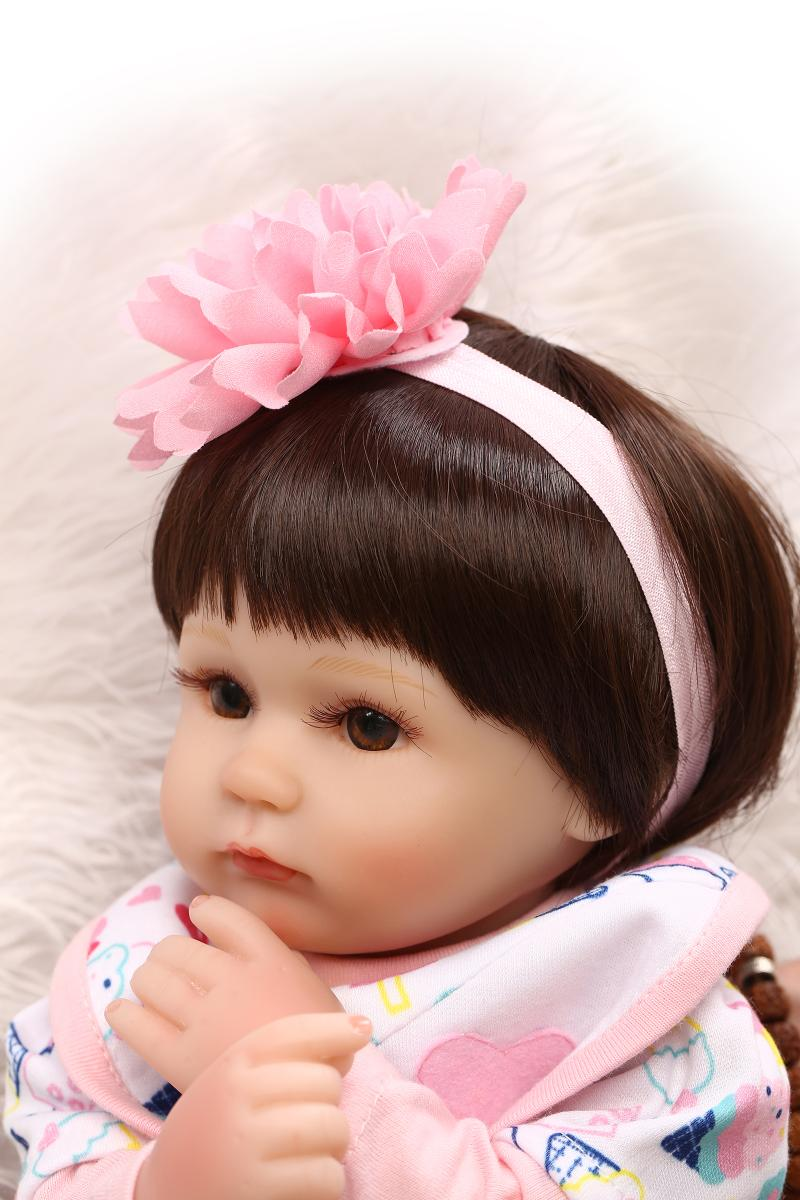 dolls for girls toys silicone reborn complete babies dolls toy 16 inch 42 CM Lifelike baby girl dolls 10 year old girls gifts 18 inch dolls handmade bjd doll reborn babies toys for girls 45cm jointed plastic toy dolls for wedding valentine s day gifts