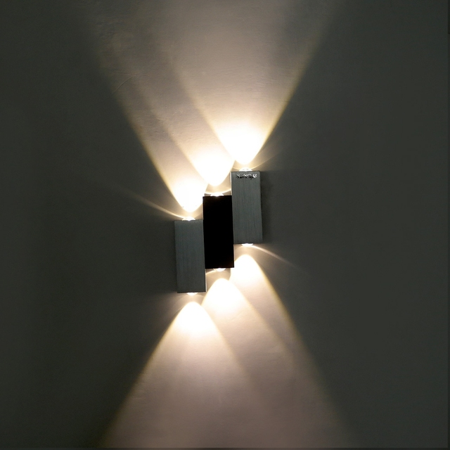 YouOKLight LED Night Light 6W 480LM Stairs 6 LEDs Wall Lamp Bedroom  Decoration Lighting Night Light