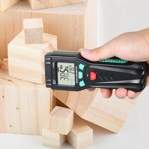 Image 3 - Измеритель влажности для дерева, гигрометр, измеритель влажности растений с 7 режимной подсветкой, хранение данных для цемента