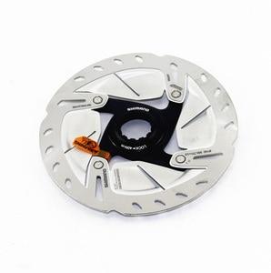 Image 2 - SHIMANO Rotor de bicicletas de carretera, bloqueo central de freno de disco ULTEGRA R8000, SM, RT800, R8020, R8070, 140mm y 160mm
