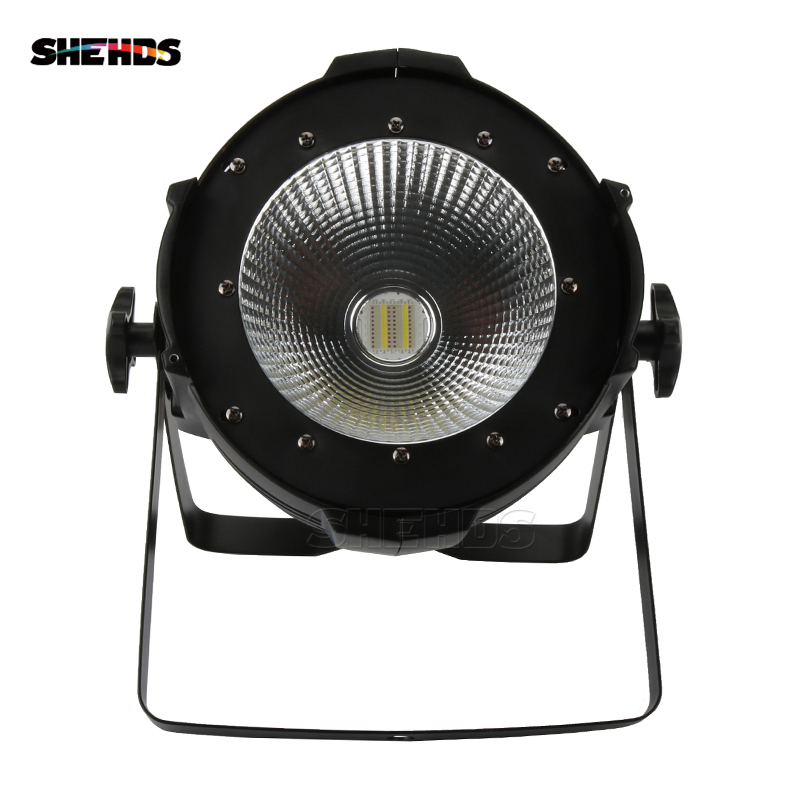 4pcs/lot LED Can Par COB 200W RGBWA UV 6in1 Stage Light Audience Studio Blinder High Quality For Bar Clubs Theaters SHEDHS