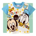 Children t shirt boy cute cartoon Short-sleeved T-shirt factory direct wholesale