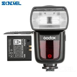 Image 3 - Godox V860II C/N/S/F/O פלאש 2.4G 1/8000 s 2000 mAh Li  על סוללה אלחוטי פלאש אור עבור Sony Canon ניקון אולימפוס Fujifilm