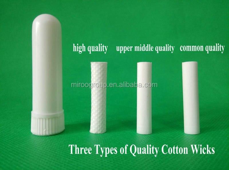 ฟรีเรือ200เซ็ตขายส่งสีขาวว่างเปล่าinhalersกลิ่นหอมinhaler s ticks,พลาสติกสูดจมูก(ผ้าฝ้ายคุณภาพที่ดีที่สุดสารประกอบ51มิลลิเมตร)-ใน ขวดรีฟิล จาก ความงามและสุขภาพ บน   3