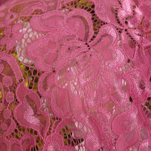 Image 4 - 2 מטר/הרבה אפשרויות בד תחרה למתוח ניילון תפירת שמלת שמלת שמלת כלה, בד תחרה למתוח לסרוג