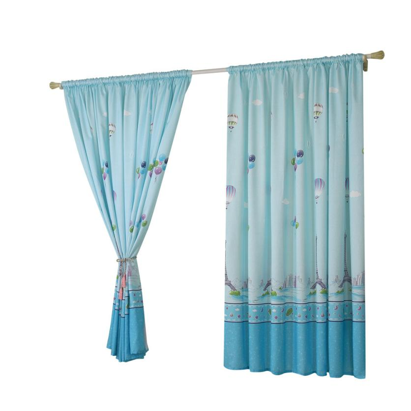 Curtain Bedroom Living Room High Quality 2018 New Hot Air Balloon Tulle Window Voile Drape Valance Fabric Modern May29 In Curtains From Home