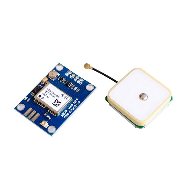 NEO-7M For Replace Neo-6M Dual Antenna Interface GPS Mini NE0-7M EEPROM Satellite Positioning Module 51 SCM MCU For Arduino
