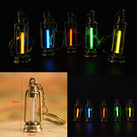 25 Years Tritium Gas Light Key Ring Key Chain Acrylic Anti Shock Automatic Luminous Fluorescence Glow