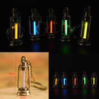 25 jahre Tritium Gas Licht Schlüssel Ring Schlüssel Kette Acryl Anti Schock Automatische Leucht Fluoreszenz Glow Ohne Energie Tritium