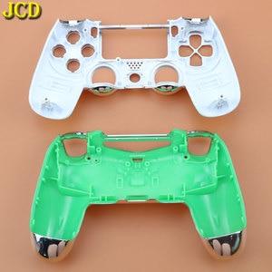 Image 3 - JCD Plating Housing Shell Case Front back / Upper Lower Cover for Sony PS4 DualShock 4 Controller Gamepad JDM 001 V1 Version