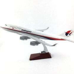 45-47 CM Boeing 747 MALAYSIA AIRLINES 1:150 Legierung Flugzeug Modell Sammlung Modell Spielzeug Geschenke Kostenloser express EMS/ DHL/Lieferung