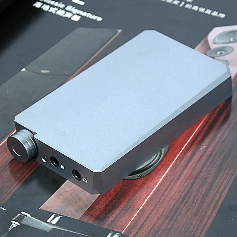 SaoMai HaaFee HA8-II Portable Bluetooth 5.0 HIFI Casque Amplificateur ES9038Q2M DAC CSR8675 Soutien aptX-HD 32-300 Ohm casque