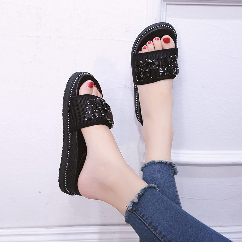 Women Sandals Slippers 2019 Fashion Women Summer Beach Roman  Flat Sandals Flip Flops female ShoesWomen Sandals Slippers 2019 Fashion Women Summer Beach Roman  Flat Sandals Flip Flops female Shoes