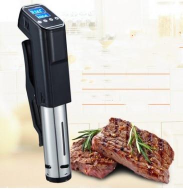Lent Aliments Sous Vide Cuisinière 1000 W Puissant Thermoplongeur-LCD Numérique Affichage de la Minuterie En Acier Inoxydable