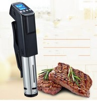 Slow Sous Vide Food Cooker 1000W Powerful Immersion Circulator LCD Digital Timer Display Stainless Steel