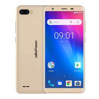 Ulefone S1 Pro Mobile Phone Android 8.1 5.5 inch 18:9 MTK6739 Quad Core 1GB RAM 16GB ROM 13MP+5MP Rear Dual Camera 4G Sma