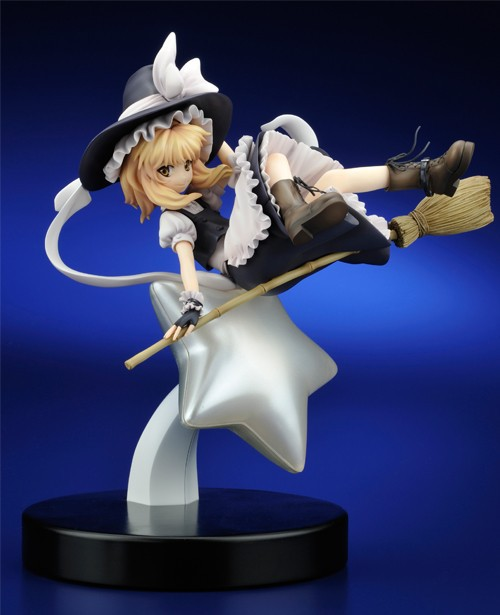 TouHou Project 1/7 scale painted figure Light Ver. Kirisame Marisa Doll PVC Action Figure Collectible Model Toy 23cm crazy toys variant 1 6 scale painted figure x men real clothes ver variable doll pvc action figures collectible model toy 30cm