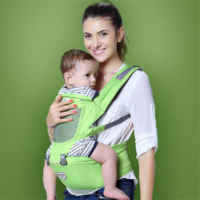 2-36 Months Breathable Cap Carrier Multifunctional Hip seat Face in Face out Infant Comfortable WrapSeat Carriers christmas gift