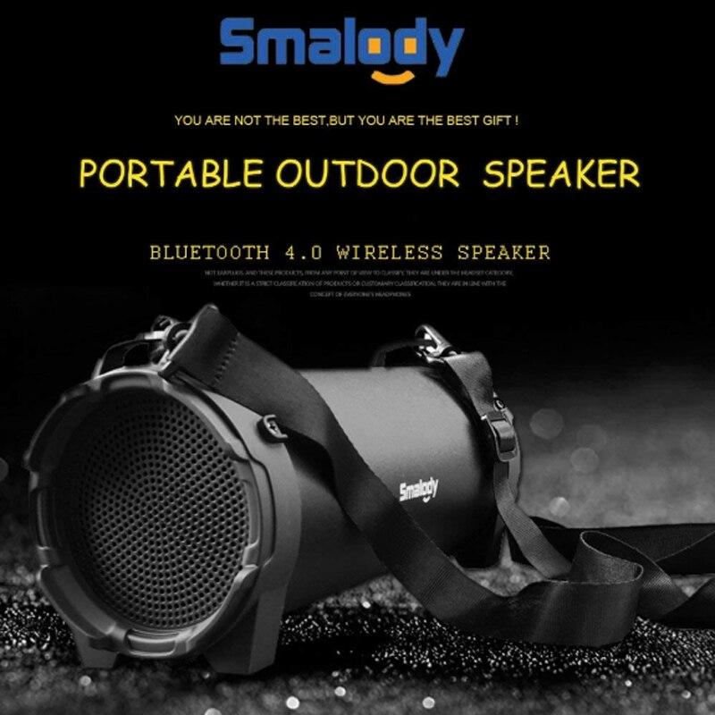 Smalody SL10 Bicycle Bluetooth Speaker Mini Speaker High Power Speaker Outdoor Sports Portable Speaker with Strap in Portable Speakers from Consumer Electronics