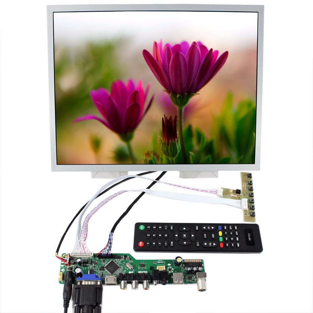 TV HDMI VGA CVBS RF USB LCD Controller Board 15 LQ150X1LG96 1024x768 LCD Screen tv hdmi vga cvbs rf usb lcd controller board 15 lq150x1lg96 1024x768 lcd screen