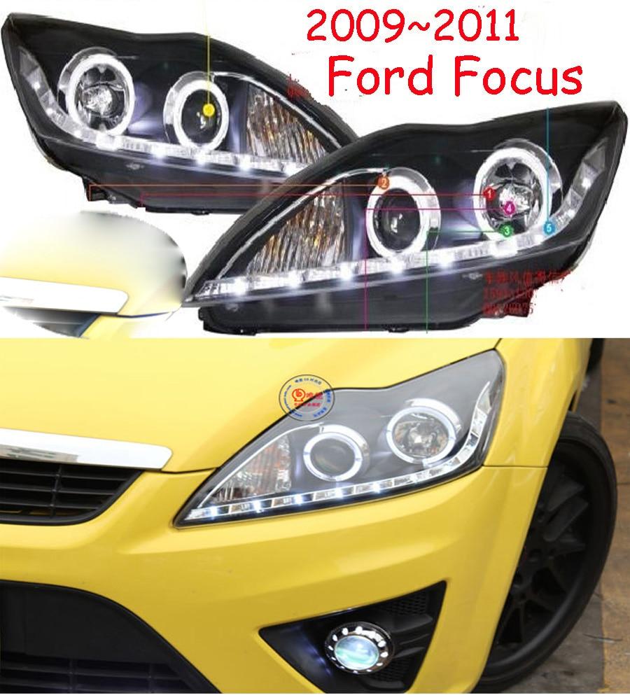 HID,2009~2011,Car Styling for Focu Headlight,Transit,Explorer,Topaz,Edge,Taurus,Tempo,spectron,Falcon,Focu head lamp