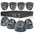 Jooan sistema de cctv 8ch 960 h hdmi cctv dvr 4 pcs 700tvl hd Indoor Dome CCTV Camera 24 LEDs Home Security Sistema de Vigilância Kits