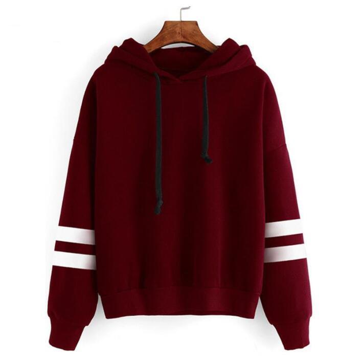 2017 Autumn Women Hoodie Casual Long Sleeve Hooded Pullover Sweatshirts Hooded Female Jumper Women Tracksuits Sportswear