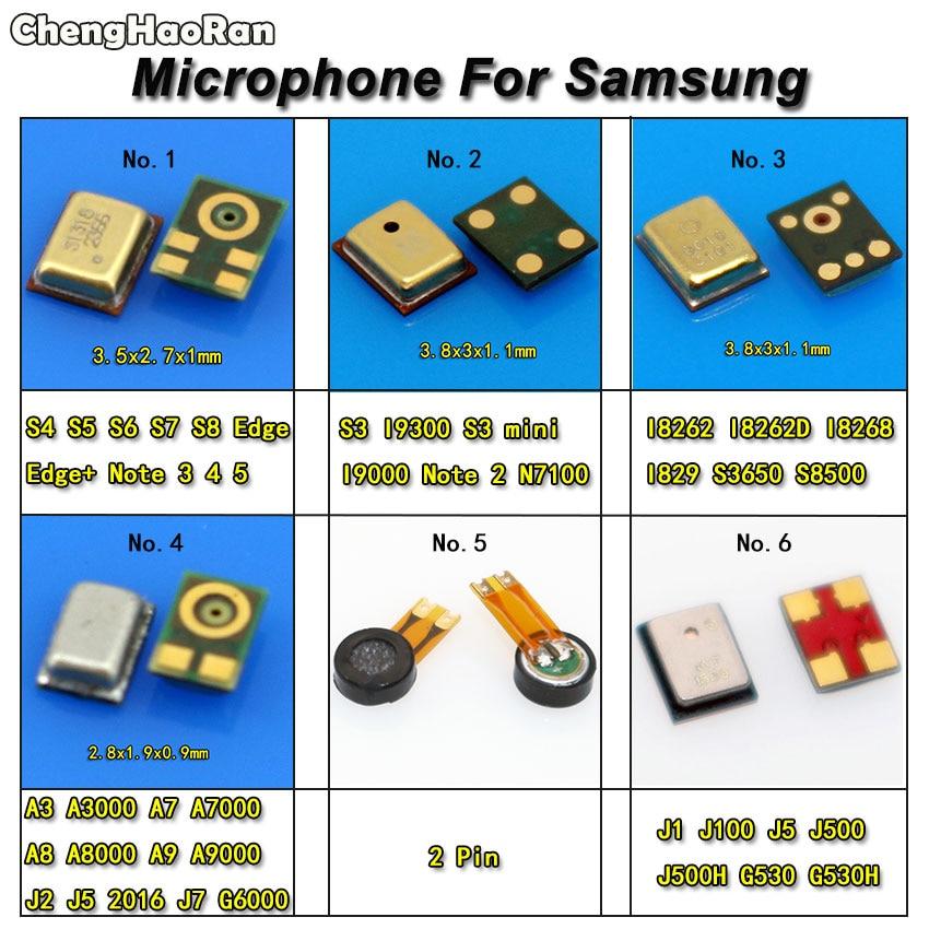 Microphone Inner MIC Receiver Speaker For Samsung S3 S4 S5 S6 S7 S8 Edge Plus Note 3 4 5 A3 A7 A8 A9 J1 J2 J5 J7 G6000 I8262D