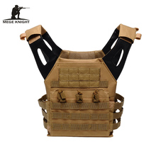 MEGE Brand Clothing Men's Military Army Protection Vest Field Multifunctional Lightweight Nylon Tactical Gear Airsoft Vest