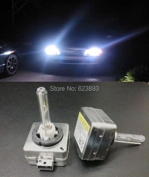 Aliexpress.com : Buy Free shipping, 2x Xenon HEADLIGHT HID Bulbs D3S 6000K 35W BULB HEAD LIGHT ...