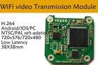 1pcs video Wifi Transmitter wireless P2P 30fps realtime video WIFI transmitter for Smart Phone CCTV FPV System
