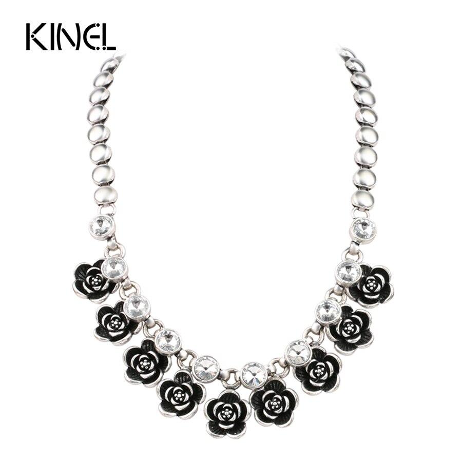 Vintage CZ Zircon Necklace For Girls Fashion Women\'s Jewelry ...