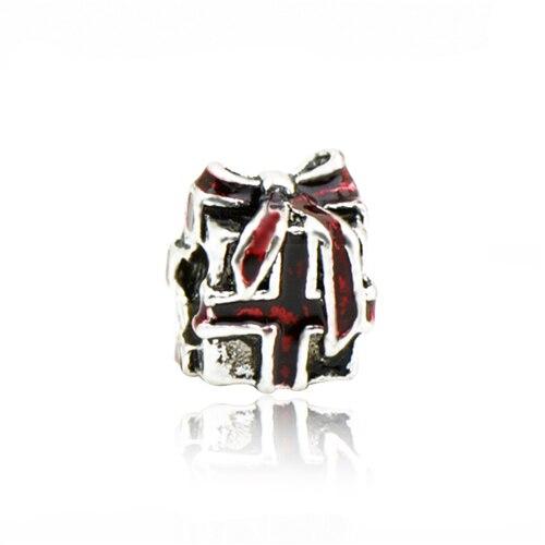 Макси маленькое Рождественское дерево костыль колокольчик Санта Клаус подвески-шармы Pandora Браслеты и браслеты для женщин DIY для украшения подарка - Цвет: Style 2