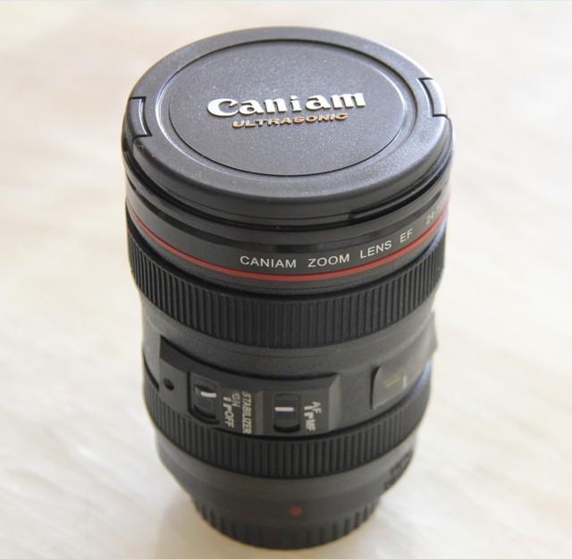 Nuovo caffè lente della fotocamera tazza di emulazione vino boccale di birra con