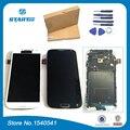 Para samsung galaxy s4 i9500 i337 i545 pantalla replacment para samsung gt-i9505 pantalla lcd táctil digitalizador asamblea con marco
