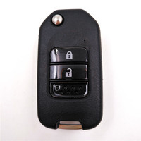 G Word On Blade 3 Button 433Mhz 47 7961 Electric Chip Car Folding Flip Remote Key