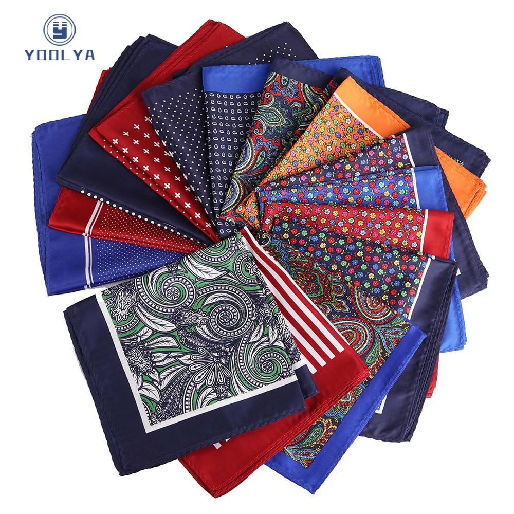 Newest High Quality 33 X 33CM Mans Paisley Flower Pocket Square Hankies Chest Towel Big Size Handkerchief For Men's Suit