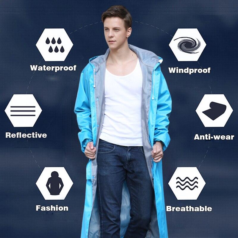Rainfreem Impermeável capa de Chuva Mulheres/Homens Trench Coat Poncho Single-layer À Prova D' Água Capa De Chuva As Mulheres Impermeáveis capa de Chuva Poncho