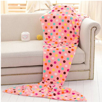 Home Soft Mermaid Tail Sofa plush Blanket Lap Throw Bed Wrap Fin Warm Cocoon Costume Girls 820054