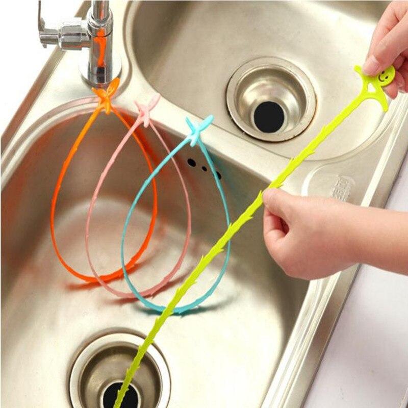 10 Teile/los Bad Haar Kanalisation Filter Abflussreiniger Outlet Küche Waschbecken Drian Filter Sieb Boden Perücke Entfernung Clog Werkzeuge Neue Haus & Garten