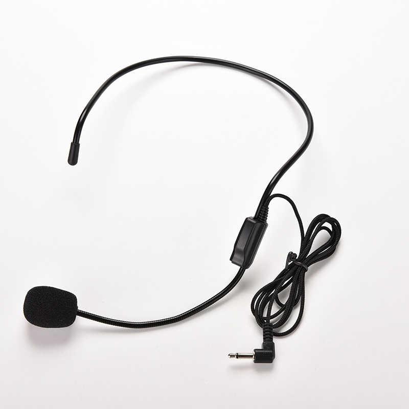 3.5mm Wired מיקרופון אוזניות סטודיו כנס מדריך דיבור רמקול Stand מיקרופון עבור קול מגבר נייד מיקרופוני