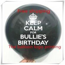 12 Inches 28 G Custom Advertising Balloons Promotion Balloon Printing Ballons Baby Latex Logo Round 100 PCS Batch Wedd