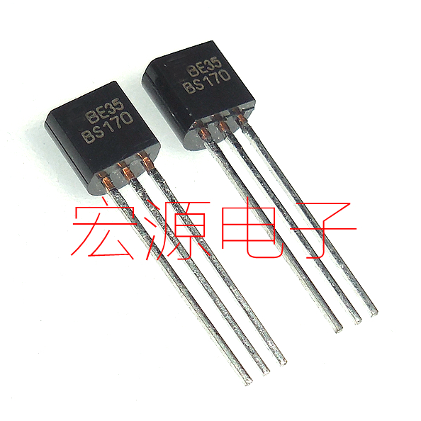 20 штук BS170 МОП-канал 60 В 50mA К-92 0.5A/600 В FET новые оригинальные